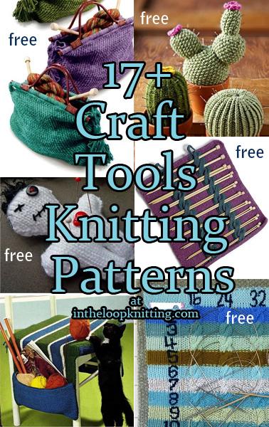 Craft Tool Knitting Patterns
