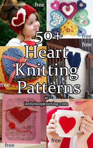 Heart Knitting Patterns