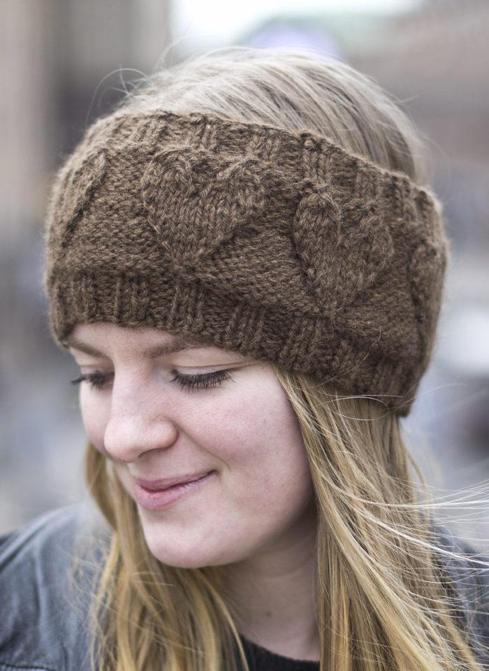 Free Knitting Pattern for Heartsome Headband