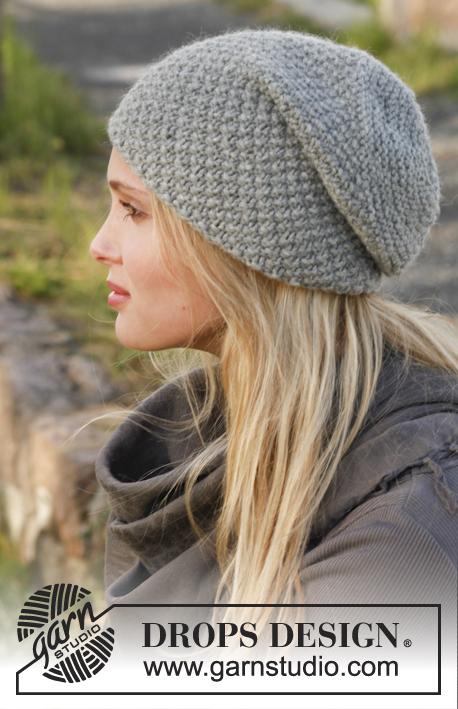 Free Knitting Pattern Hat Beanie : Slouchy Beanie Knitting Patterns In the Loop Knitting