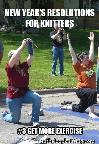 New Year Resolutions for Knitters