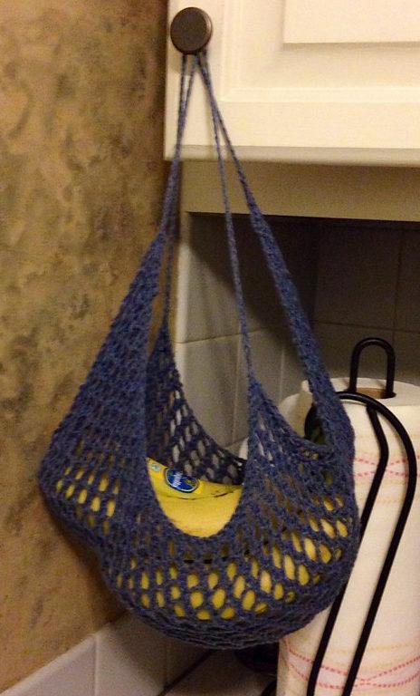 Free Knitting Pattern for Banana Hammock