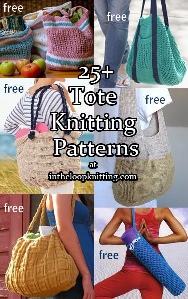 Tote Knitting Patterns