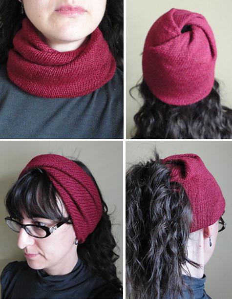 Free Knitting Pattern for Strange Loop