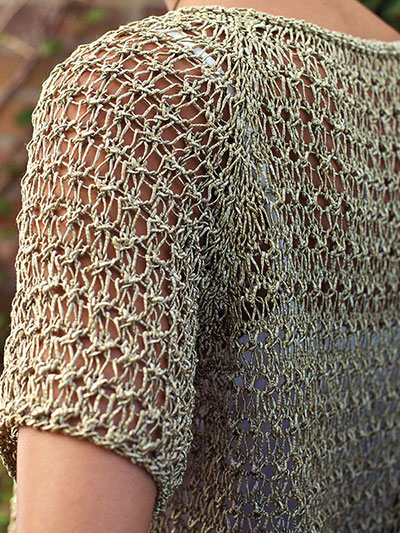 Knitting pattern for easy Void Pullover Top
