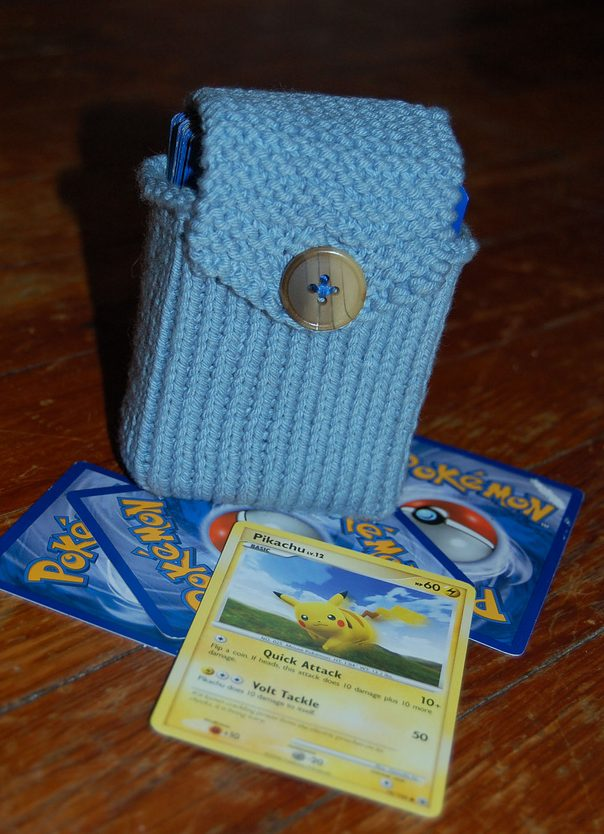 Free Knitting Pattern for Card Deck Holder