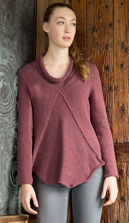 Free Knitting Pattern Anhinga Pullover Sweater