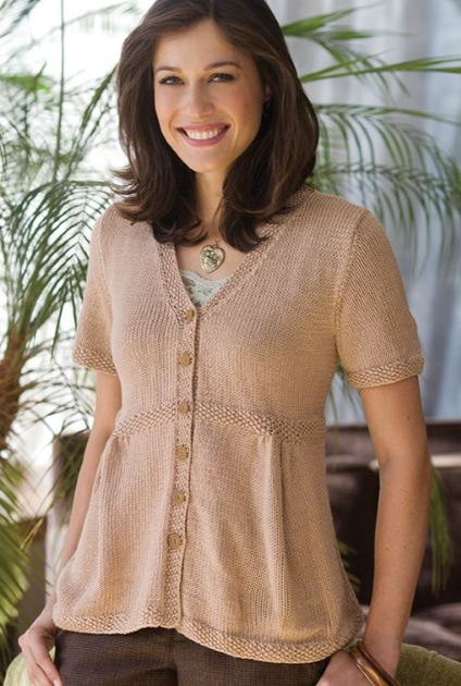 Free Knitting Pattern for Emily Sweater