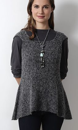 Knitting Pattern for Rahat Top