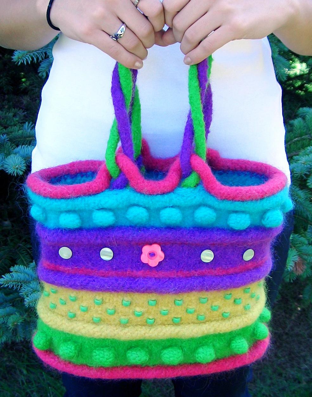 Knitting Pattern for B4 Bag