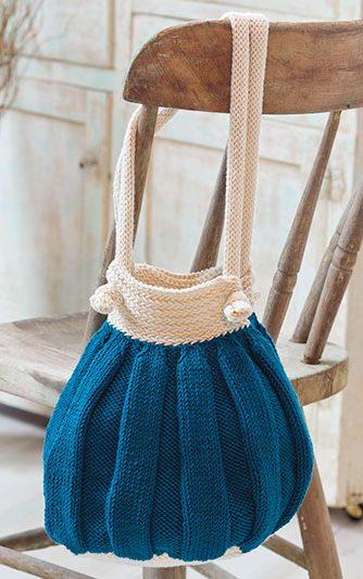 Knitting Pattern Butternut Purse