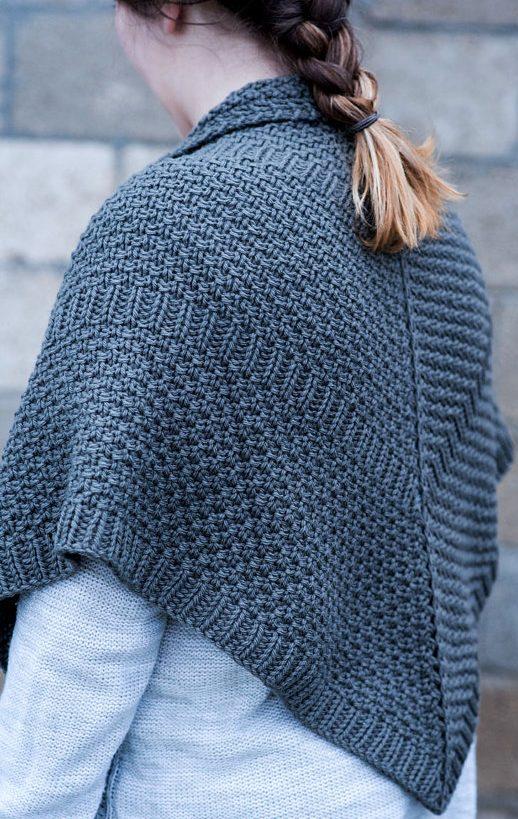 Knitting Pattern Cindersmoke Shawl