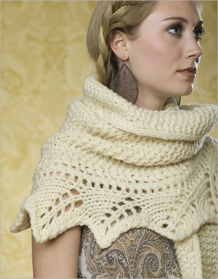 Knitting Pattern for Grand Palais Shawl