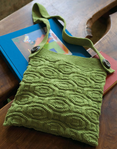 Free Knitting Pattern for Skuld Bag