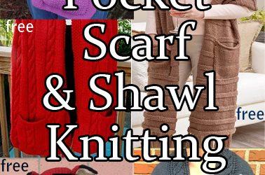 Pocket Wrap Knitting Patterns
