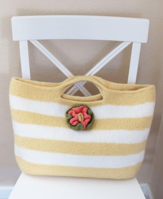 Knitting Pattern Summer Sun Bag