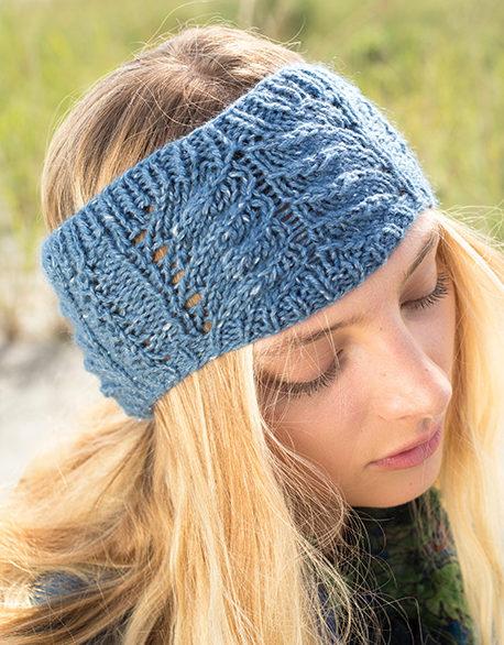 Free Knitting for Macaron Headband