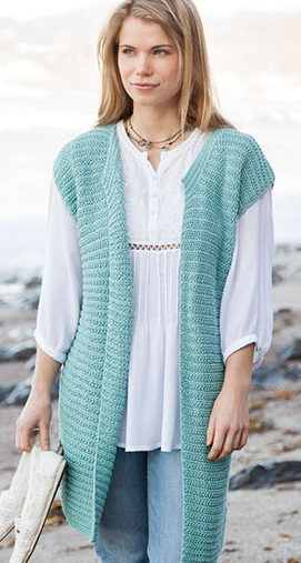 Knitting Pattern for Passionista Vest