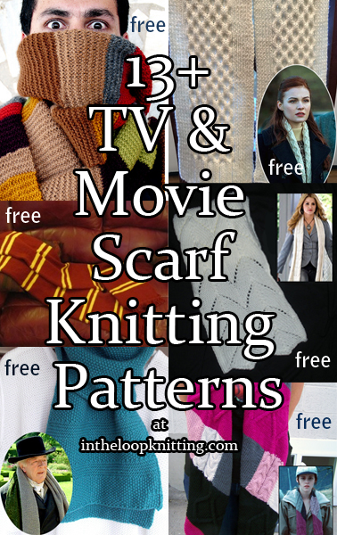 Movie and TV Scarf Knitting Patterns