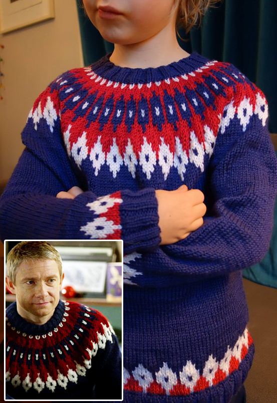 Christmas Fair Isle Jumper Knitting Patterns Christmaswalls