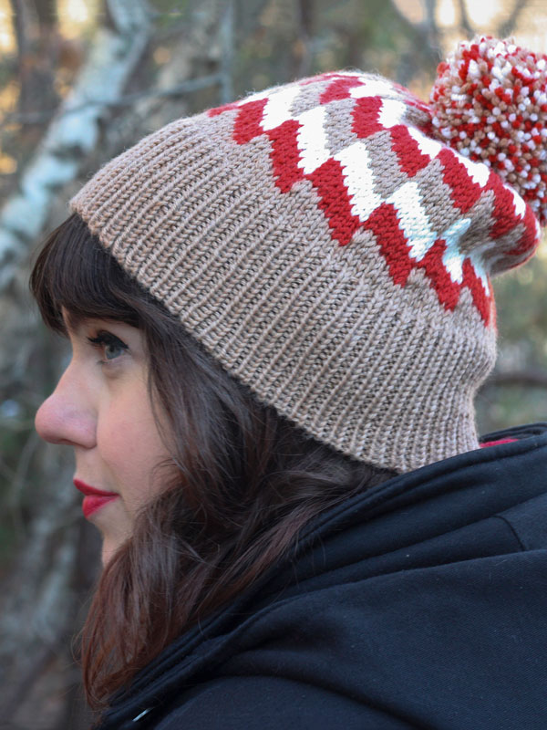 Free Knitting Pattern for Cassidy Hat