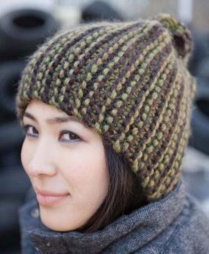 Free Knitting Pattern for Jordan Hat