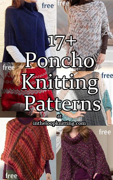 Modern Poncho Knitting Patterns