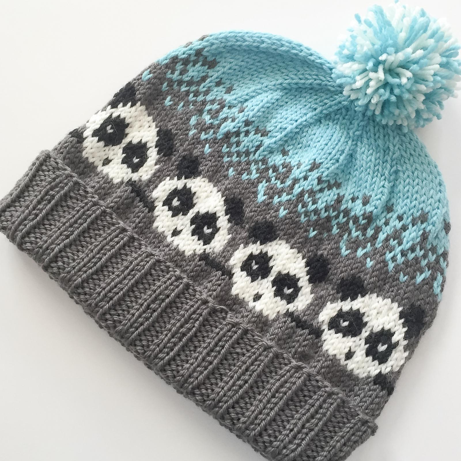 Free Knitting Pattern for Pandemonium Hat