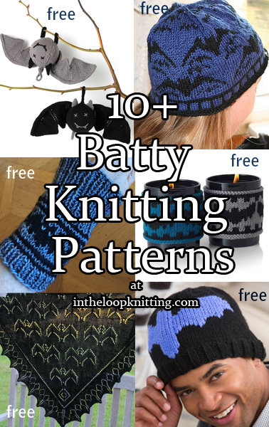 Batty Knitting Patterns