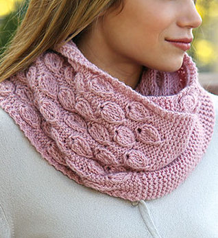 Knitting Pattern for Dusty Bloom Cowl