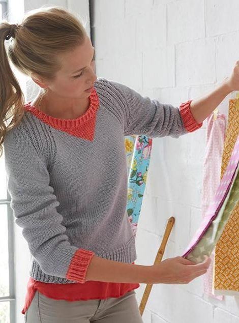 Free Knitting Pattern for Journey Pullover