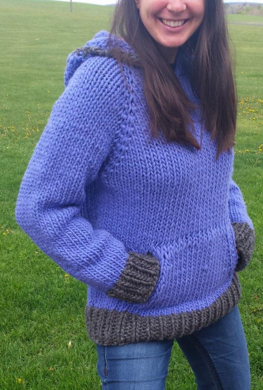 Knitting Pattern for Danny's Sweatshirt