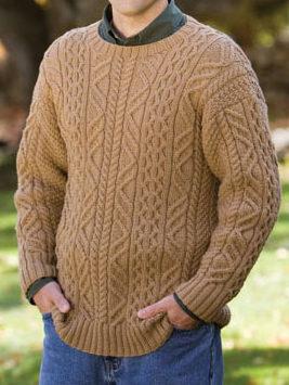Free Knitting Pattern for Aram Pullover