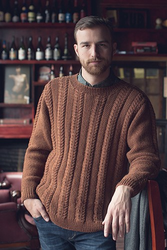 Knitting Pattern for Bangor Sweater