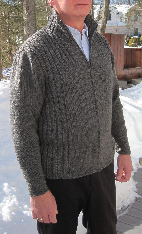 Knitting Pattern for Cambridge Jacket