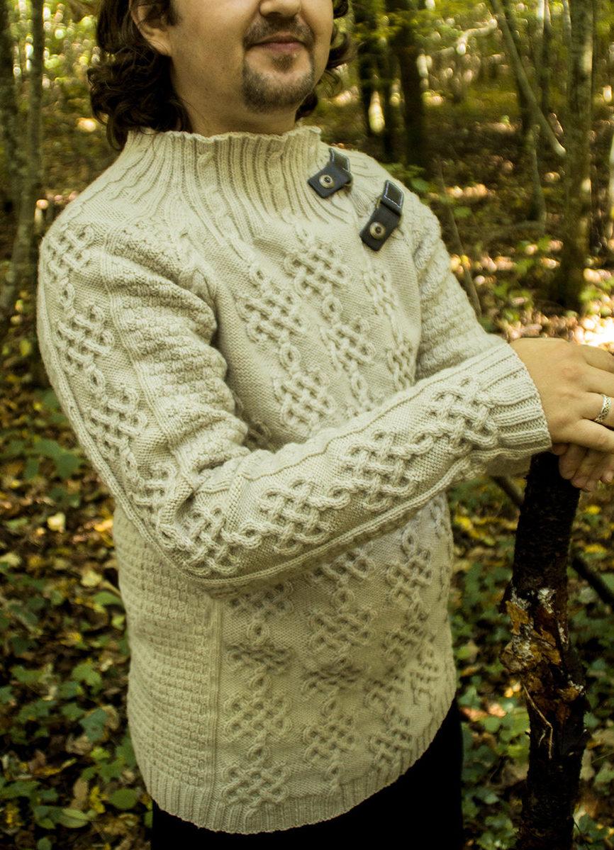 Knitting Pattern for Henry Tudor Sweater