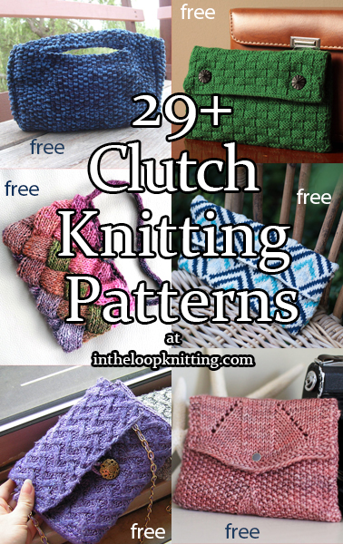 Clutch Knitting Patterns