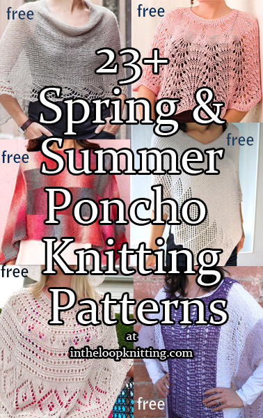 Lighter Poncho Knitting Patterns