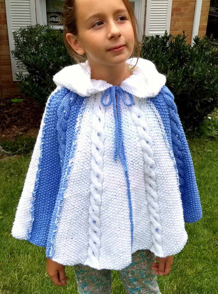 Ponchos for Babies and Children Knitting Patterns | In the ...