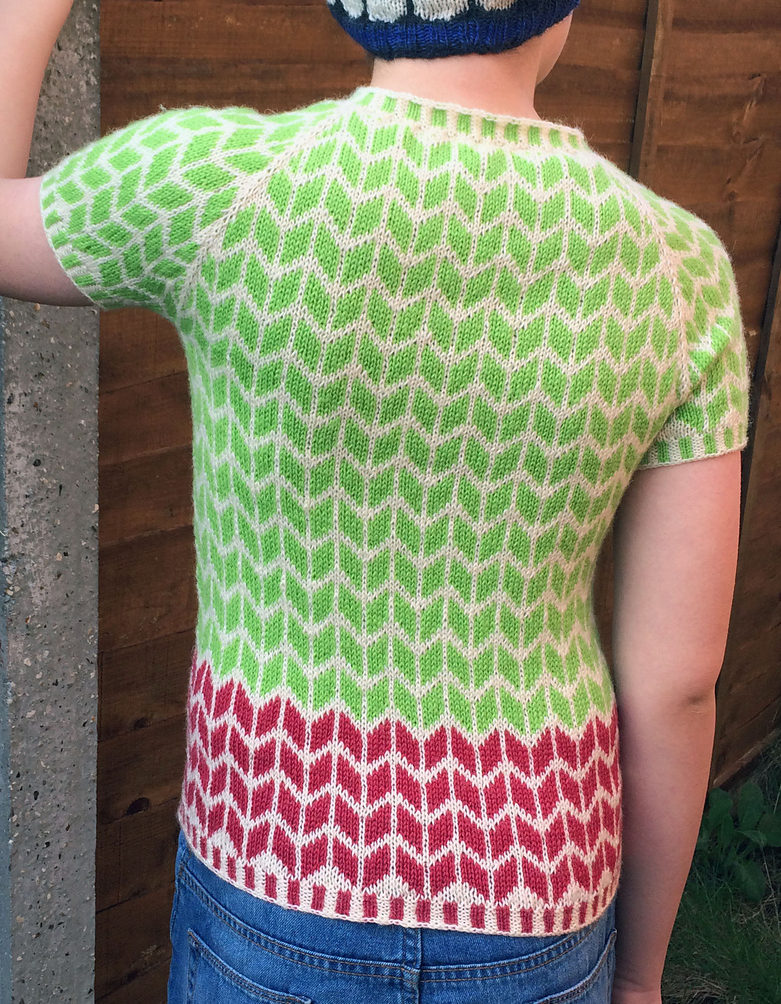 Knitting Pattern for Knit, Repeat Top