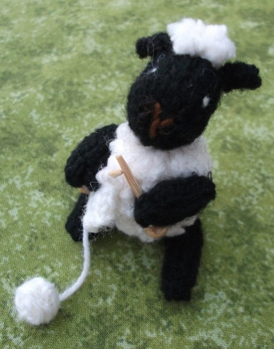 Knitting Pattern for Knitting Lamb