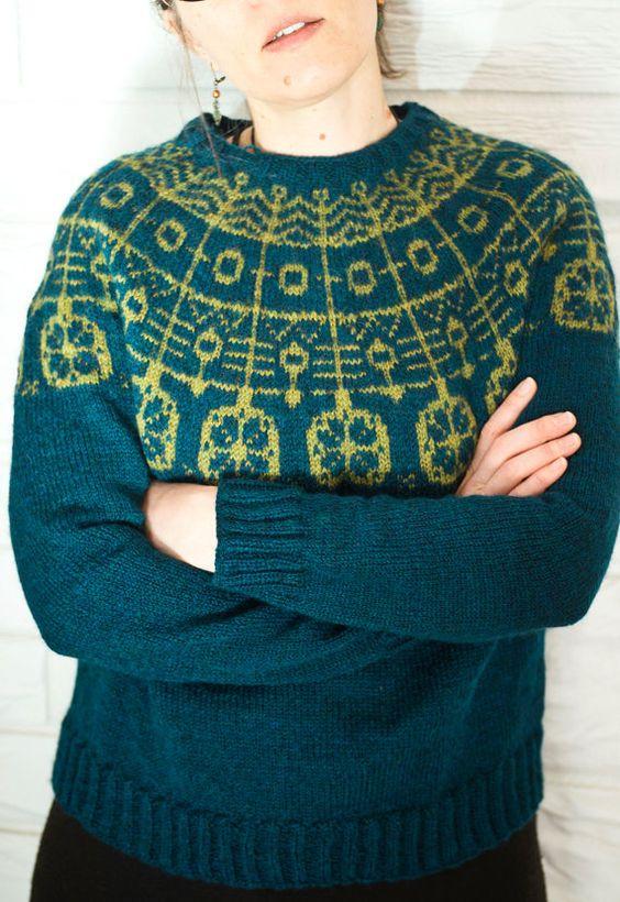 Flight Spell Sweater Knitting Pattern