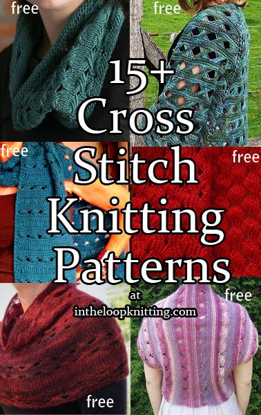 Indian Cross Stitch Knitting Patterns