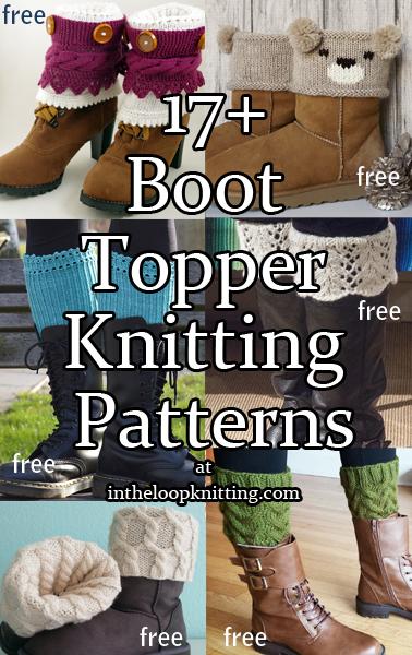 Boot Cuff Knitting Patterns