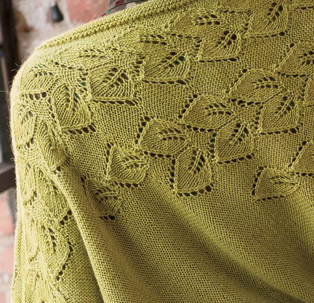 Knitting Pattern for Botanic Pullover Poncho