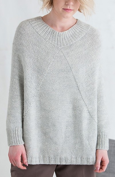 Sleeved Poncho Knitting Patterns | In the Loop Knitting