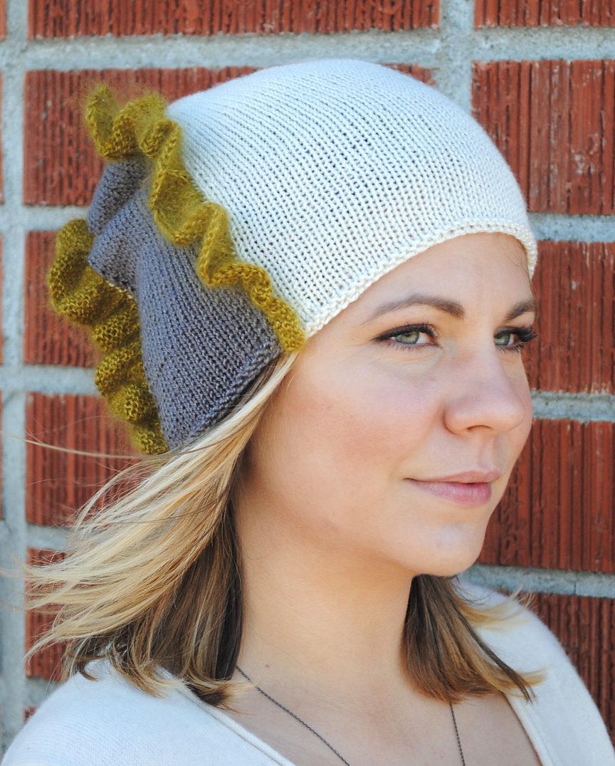 Knitting Pattern for Flat Knit Preternatural Hat