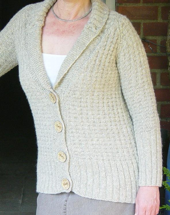Knitting Pattern for Buttercream Jacket