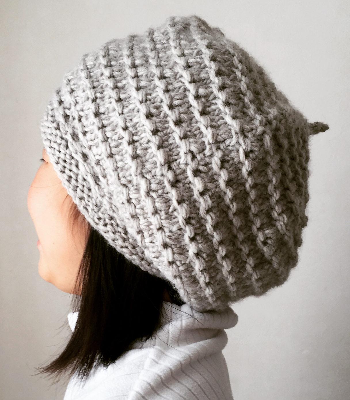 Free Until March 10 2018 Donguri Beret Knitting Pattern