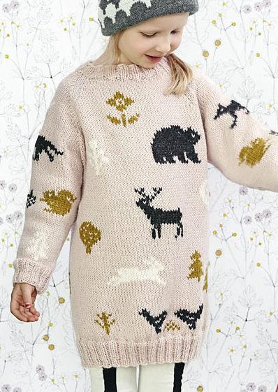 Free Until Dec. 31 2017 Millas Sweater Knitting Pattern